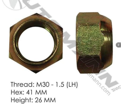 E-10254L-Disc Wheel Nut (Metric), (product_type), (product_vendor) - Nick's Truck Parts