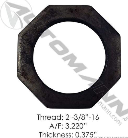 E-1251-Axle Spindle Nut, (product_type), (product_vendor) - Nick's Truck Parts