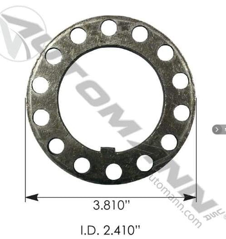 E-1252-Axle Spindle Washer, (product_type), (product_vendor) - Nick's Truck Parts