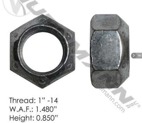E-1828-Back Wheel Nut, (product_type), (product_vendor) - Nick's Truck Parts