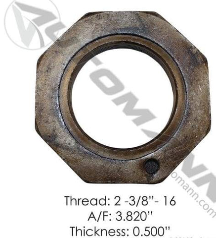 E-2128-Axle Spindle Nut, (product_type), (product_vendor) - Nick's Truck Parts