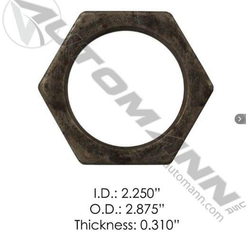 E-2300-Axle Spindle Nut, (product_type), (product_vendor) - Nick's Truck Parts