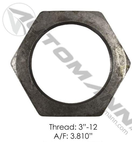E-2465-Axle Spindle Nut, (product_type), (product_vendor) - Nick's Truck Parts