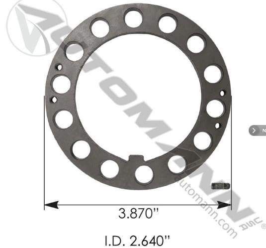 E-3008-Axle Spindle Lock Washer, (product_type), (product_vendor) - Nick's Truck Parts