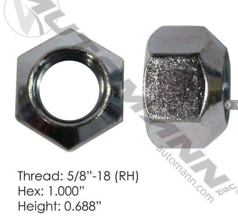 E-4975R-Disc Wheel Nut, (product_type), (product_vendor) - Nick's Truck Parts