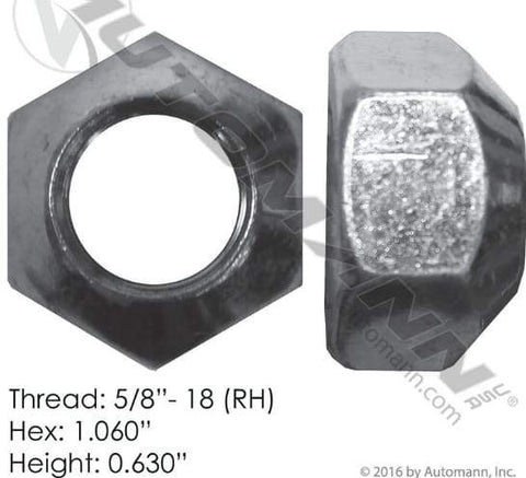 E-4979R-Disc Wheel Nut, (product_type), (product_vendor) - Nick's Truck Parts