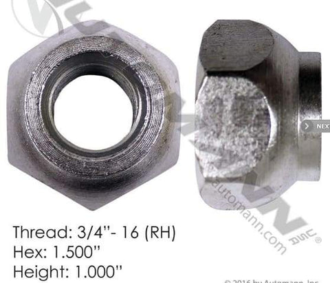 E-5554R-Disc Wheel Nut, (product_type), (product_vendor) - Nick's Truck Parts