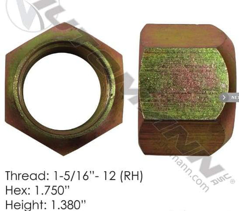 E-5576R-Disc Wheel Nut (HD), (product_type), (product_vendor) - Nick's Truck Parts
