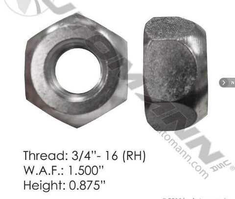 E-5652R-Disc Wheel Nut, (product_type), (product_vendor) - Nick's Truck Parts