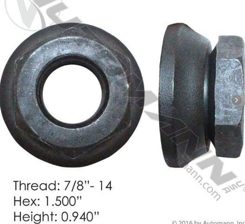 E-5710  -  Flanged Nut (Two Piece), (product_type), (product_vendor) - Nick's Truck Parts