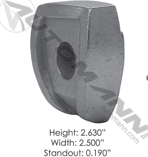 E-5838-Wheel Clamp, (product_type), (product_vendor) - Nick's Truck Parts