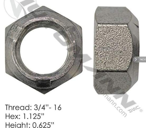 E-5964-Disc Wheel Nut, (product_type), (product_vendor) - Nick's Truck Parts