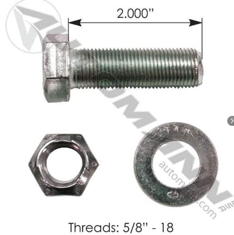 E-5970-Drum Bolt Assembly, (product_type), (product_vendor) - Nick's Truck Parts