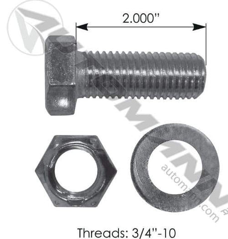 E-5971-Drum Bolt Assembly, (product_type), (product_vendor) - Nick's Truck Parts