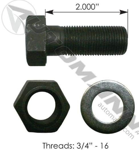 E-5972-Drum Bolt Assembly, (product_type), (product_vendor) - Nick's Truck Parts