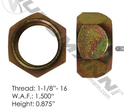 E-5977L-Disc Wheel Nut, (product_type), (product_vendor) - Nick's Truck Parts