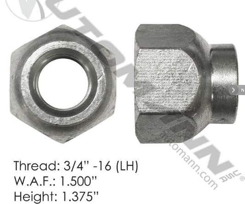 E-5995L-Disc Wheel Nut, (product_type), (product_vendor) - Nick's Truck Parts