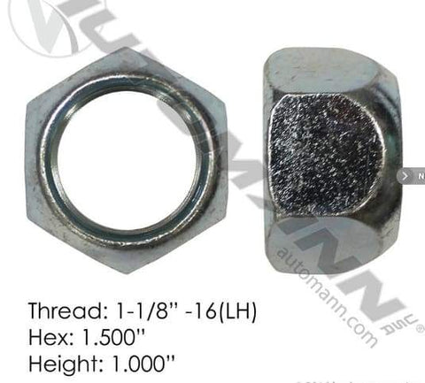 E-5996L-Disc Wheel Nut, (product_type), (product_vendor) - Nick's Truck Parts