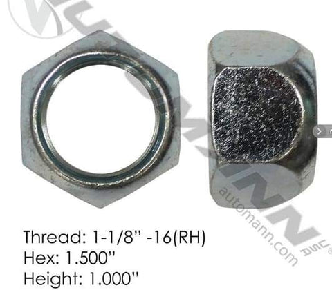 E-5996R-Disc Wheel Nut, (product_type), (product_vendor) - Nick's Truck Parts