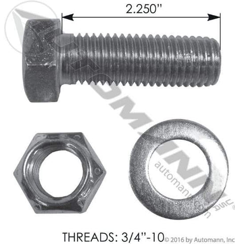 E-9262-Drum Bolt Assembly, (product_type), (product_vendor) - Nick's Truck Parts
