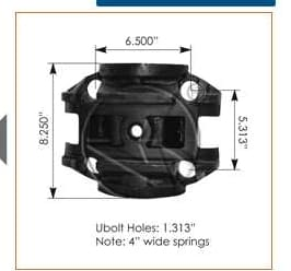 E355  -  Mack Upper Trunnion, (product_type), (product_vendor) - Nick's Truck Parts