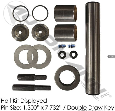 FKP-104-B -Standard King Pin Kit 1989-1997 Ford B Series - Steering