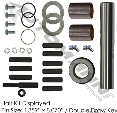 FKP-110-B -Standard King Pin Kit Dana 160S-1200S - Steering