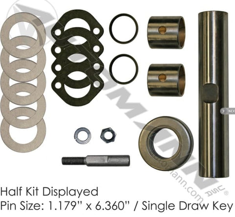 FKP-117-B -Standard King Pin Kit 1985-1999 GM P30 - Steering