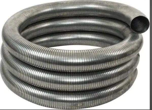 G15-5120-5in. x 10 ft. Galvanized Hose, (product_type), (product_vendor) - Nick's Truck Parts