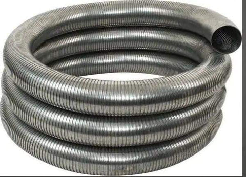G18-5300-5in. x 300in. .018 Galvanized Exhaust Flex Hose, (product_type), (product_vendor) - Nick's Truck Parts