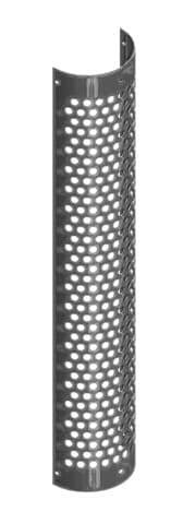 Lincoln Chrome-HSK08-048-5103-Circle Perforated Heat Shield, (product_type), (product_vendor) - Nick's Truck Parts