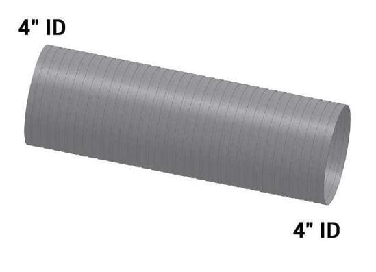MK-2786-Straight,4in. X 12.5in., Flex SS, (product_type), (product_vendor) - Nick's Truck Parts