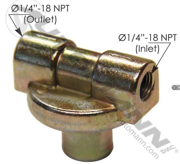 N198 -Neway Type Brake Pressure Protection Valve - Suspension