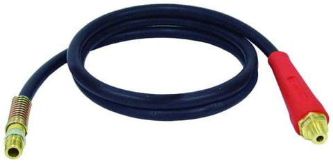 Tectran-16908R-Straight Air Line Hose Assembly with Flex-Grips, (product_type), (product_vendor) - Nick's Truck Parts