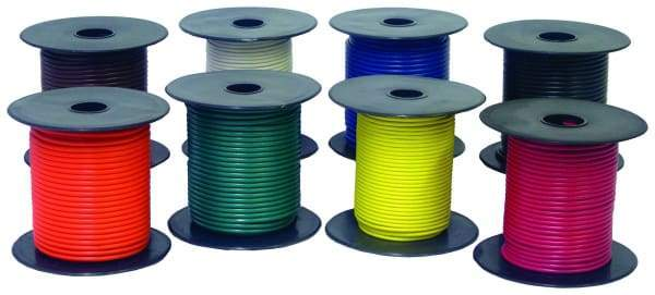 Tectran-718-01-Primary Wire-100 ft spool, (product_type), (product_vendor) - Nick's Truck Parts