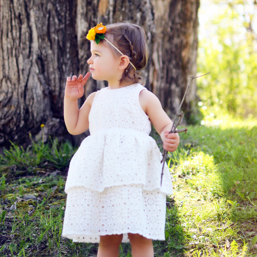 The Wildflower Eyelet Dress
