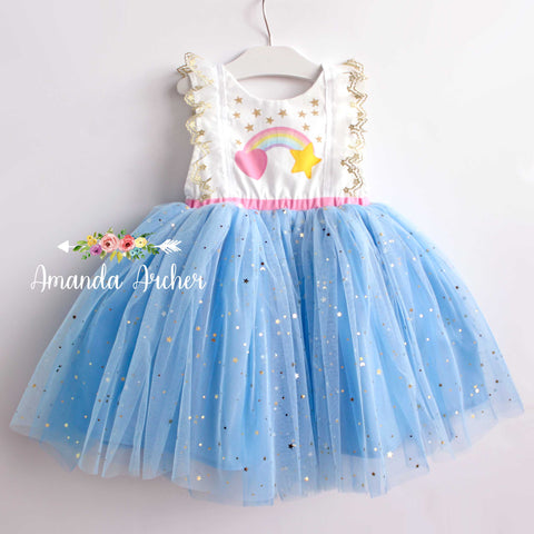 Somewhere Over the Rainbow Dress
