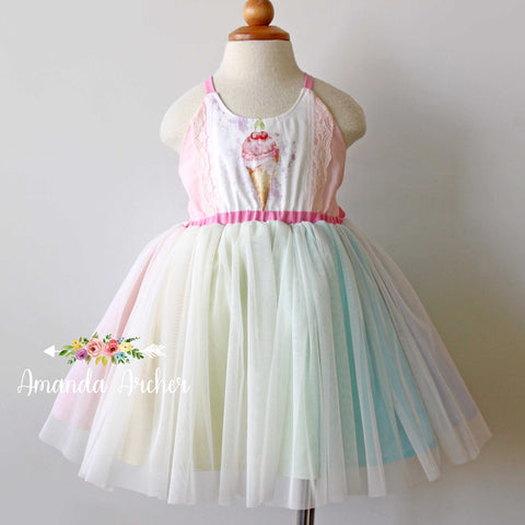 Ice Cream Tulle Dress