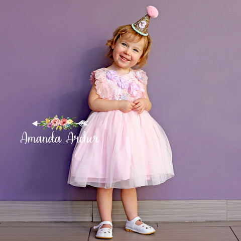 Princess Sparkle Dress, Sweetheart Pink