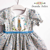 Peter Rabbit Dress with pockets