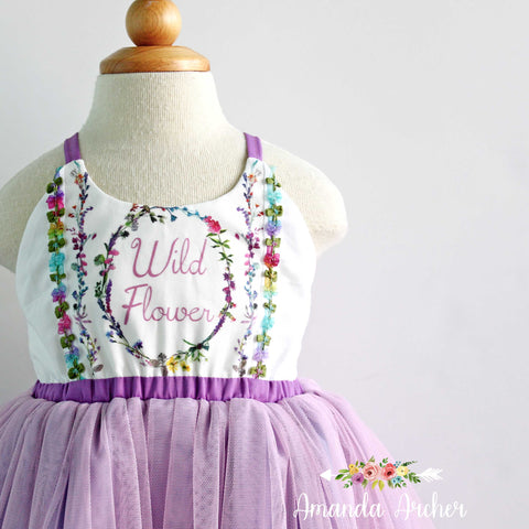 Wildflower Tulle Dress