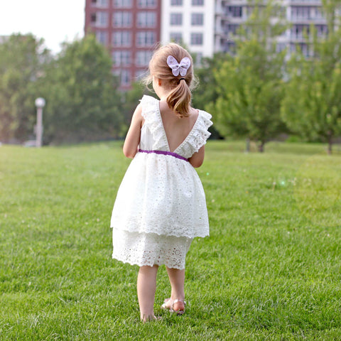 Wildflower Eyelet Dress