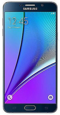 Samsung Galaxy Note 5 N920G Unlocked GSM Smartphone 4G LTE Black -Good Condition