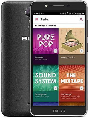 BLU Studio C HD S090Q Unlocked GSM Smartphone Black Dual SIM - Refurbished