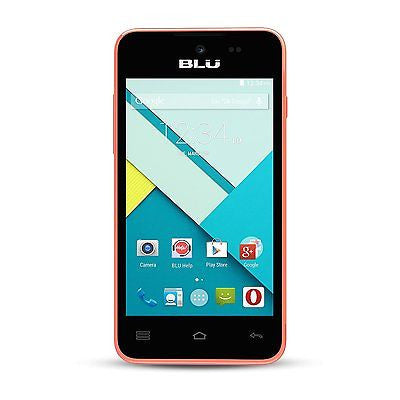 Blu Advance 4.0 L A010U Unlocked Smartphone GSM Dual SIM Pink - Refurbished