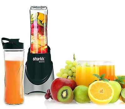 Sharkk Basics Smoothie Blender 300W Mini Personal Blender with 2 Sports Bottles