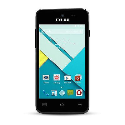 Blu Advance 4.0 L A010U Unlocked Smartphone GSM Dual SIM Black - Refurbished