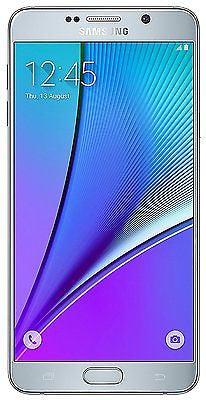 Samsung Galaxy Note 5 N920G Unlocked GSM Smartphone 4G LTE Silver - Refurbished