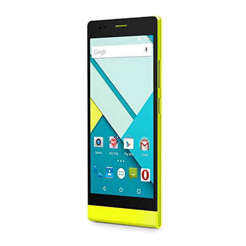 BLU Life 8 XL  Smartphone - Unlocked -  US GSM - Yellow