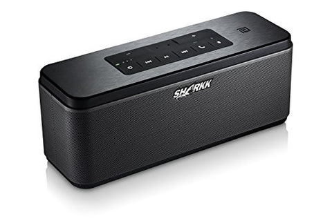 SHARKK WAVE 25W Bluetooth Speaker with Advanced MaxxBass Technology and 6600mAh Battery Powerbank Wireless Portable Speaker Perfect Home House Speaker